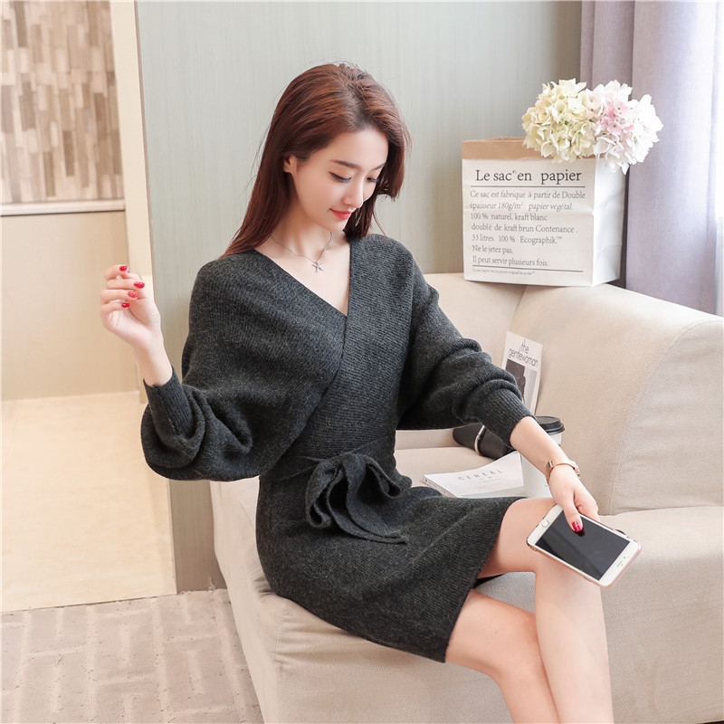 Korean-women-knitting-pattern-sweater-dress-2018 (1).jpg